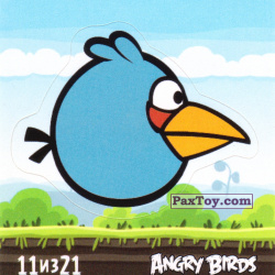 PaxToy 11 из 21 The Blues (Cheetos Stickers Angry Birds 1)