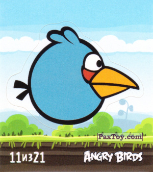 PaxToy.com - 11 из 21 The Blues из Cheetos: Stickers Angry Birds 1
