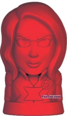PaxToy.com - 12 Черная Вдова из Пятёрочка: Ластики Стиратели Marvel