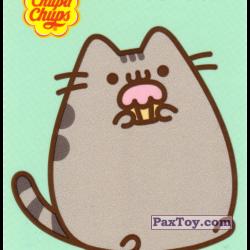 PaxToy 12 Pusheen жует кекс