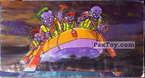 PaxToy.com - 12 Скелеты на групповом рафтинге из Boomer: Мега наклейка (Скелеты)