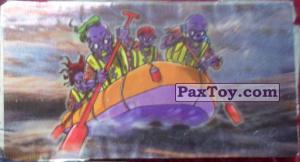 PaxToy.com - 12 Скелеты на групповом рафтинге (Сторна-back) из Boomer: Мега наклейка (Скелеты)