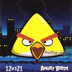 PaxToy 12 из 21 Chuck (Cheetos Stickers Angry Birds 1)