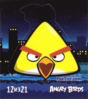 PaxToy.com  Карточка / Card, Наклейка / Стикер 12 из 21 Chuck из Cheetos: Stickers Angry Birds 1