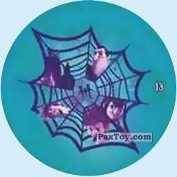 PaxToy.com - Фишка / POG / CAP / Tazo 13 Draculas in Net из Chipicao: Монстры на каникулах 3