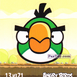 PaxToy 13 из 21 Hal (Cheetos Stickers Angry Birds 1)