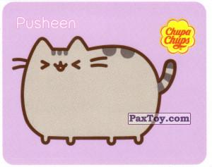 PaxToy.com - 15 Pusheen стоит и щурится из Chupa Chups: Pusheen