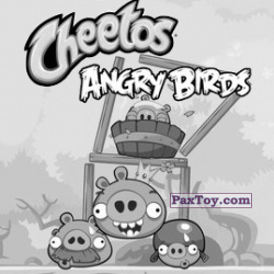 PaxToy 15 из 21 Red (Cheetos Stickers Angry Birds 1)