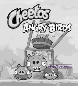 PaxToy.com  Карточка / Card, Наклейка / Стикер 15 из 21 Redy из Cheetos: Stickers Angry Birds 1