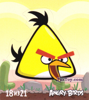 PaxToy.com - 18 из 21 Chuck из Cheetos: Stickers Angry Birds 1