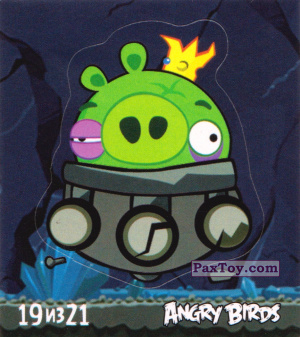 PaxToy.com - 19 из 21 Mine Pig из Cheetos: Stickers Angry Birds 1