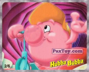 PaxToy.com - 2/6 Веселый Пузырь на самокате из Hubba Bubba: Веселые Пузыри на Вечеринке (Ukraine)