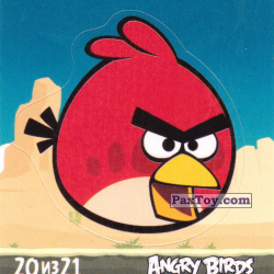 PaxToy 20 из 21 Red (Cheetos Stickers Angry Birds 1)