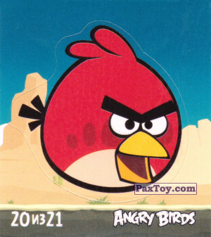 PaxToy.com - 20 из 21 Red из Cheetos: Stickers Angry Birds 1