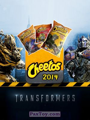 PaxToy Cheetos: Transformers - Age of Extinction.