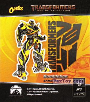 PaxToy.com - 21 Bumblebee - Бамблби из Cheetos: Transformers - Age of Extinction.