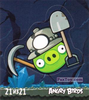 PaxToy.com - 21 из 21 Mine Pig из Cheetos: Stickers Angry Birds 1