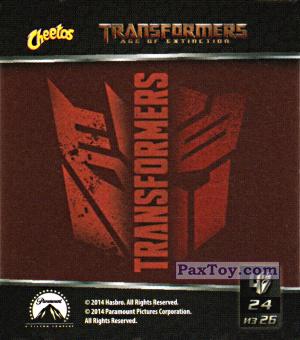 PaxToy.com - 24 Decepticons and Autobots - Десептиконы и Автоботы из Cheetos: Transformers - Age of Extinction.
