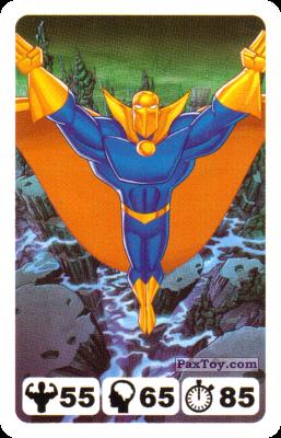 PaxToy.com - 25 Dr. Fate - Nestle - Justice League из Nesquik: Карточки Лига Справедливости от Несквик