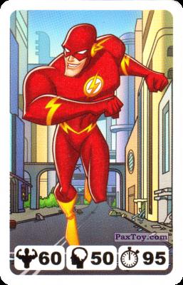 PaxToy.com - 26 Flash - Nestle - Justice League из Nesquik: Карточки Лига Справедливости от Несквик