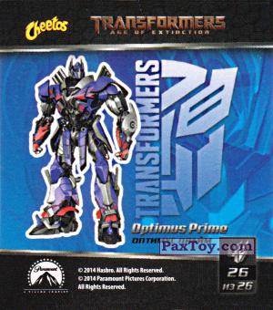 PaxToy.com - 26 Optimus Prime - Оптимус Прайм из Cheetos: Transformers - Age of Extinction.