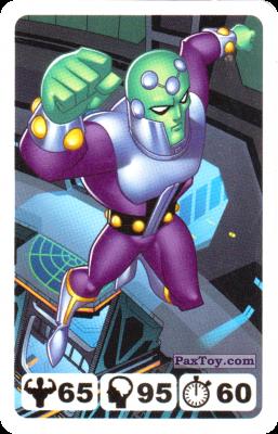 PaxToy.com - 29 Brainiac - Nestle - Justice League из Nesquik: Карточки Лига Справедливости от Несквик