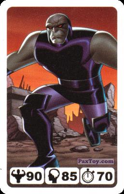 PaxToy.com - 31 Darkseid - Nestle - Justice League из Nesquik: Карточки Лига Справедливости от Несквик