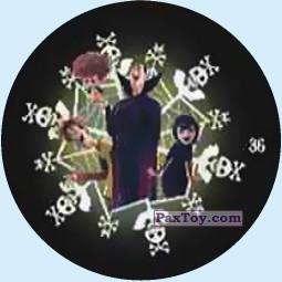 PaxToy.com - Фишка / POG / CAP / Tazo 36 Draculas Family из Chipicao: Монстры на каникулах 3