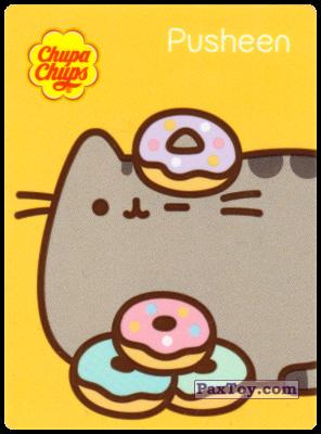 PaxToy.com - 4 Pusheen любит пончики из Chupa Chups: Pusheen