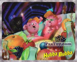 PaxToy.com - 4/6 Пузыри танцуют из Hubba Bubba: Веселые Пузыри на Вечеринке (Ukraine)
