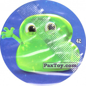 PaxToy.com - Фишка / POG / CAP / Tazo 42 Blobby Baby из Chipicao: Монстры на каникулах 3