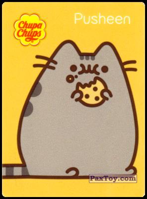 PaxToy.com - 5 Pusheen откусил печеньку из Chupa Chups: Pusheen