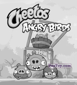 PaxToy.com - 5 из 21 Snow Pig King из Cheetos: Stickers Angry Birds 1