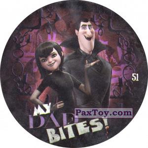 PaxToy.com - 51 Mavis & Dad - MY DAD BITES! из Chipicao: Монстры на каникулах 3