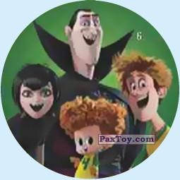 PaxToy.com - 6 Dracula's Family из Chipicao: Монстры на каникулах 3