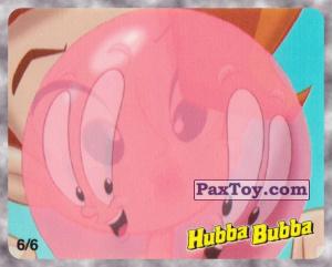 PaxToy.com - 6/6 Девочка надувает большой пузырь из Hubba Bubba: Веселые Пузыри на Вечеринке (Ukraine)