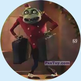 PaxToy.com - 69 Green Zombie Butler из Chipicao: Монстры на каникулах 3