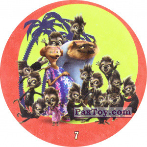 PaxToy.com - 7 Werewolf Family из Chipicao: Монстры на каникулах 3