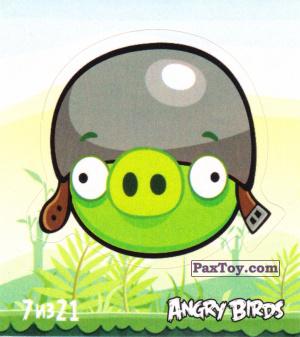 PaxToy.com - 7 из 21 Helmet Pig из Cheetos: Stickers Angry Birds 1