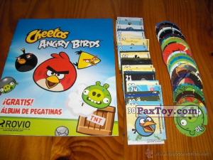 PaxToy Stickers Angry Birds 1   Европейский вариант