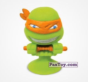 PaxToy.com - 1 Микеланджело из Choco Balls: Черепашки-ниндзя