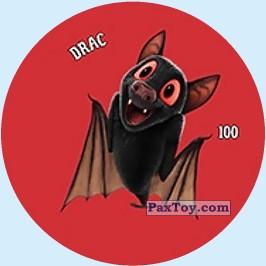 PaxToy.com - 100 DRAC - METAL TAZO из Chipicao: Монстры на каникулах 3