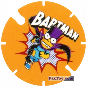 PaxToy.com - 01 Bartman из Cheetos: Bartman TAZO (Spain)