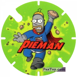 PaxToy.com - 04 Pieman из Cheetos: Bartman TAZO (Spain)