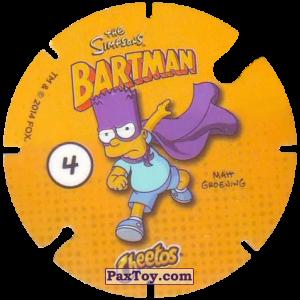 PaxToy.com - 04 Pieman (Сторна-back) из Cheetos: Bartman TAZO (Spain)