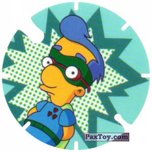 PaxToy.com - 05 Milhouse Fall Out boy из Cheetos: Bartman TAZO (Spain)