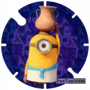 PaxToy.com - 06 Stuart with Vase (Spain) из Cheetos: Minions