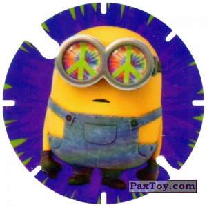 PaxToy.com - 07 Bob and Peace (Spain) из Cheetos: Minions