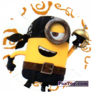 PaxToy.com - 12 Stuart the Pirate (Spain) из Cheetos: Minions