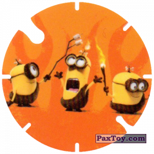 PaxToy.com - 15 Tribe Minions (Spain) из Cheetos: Minions